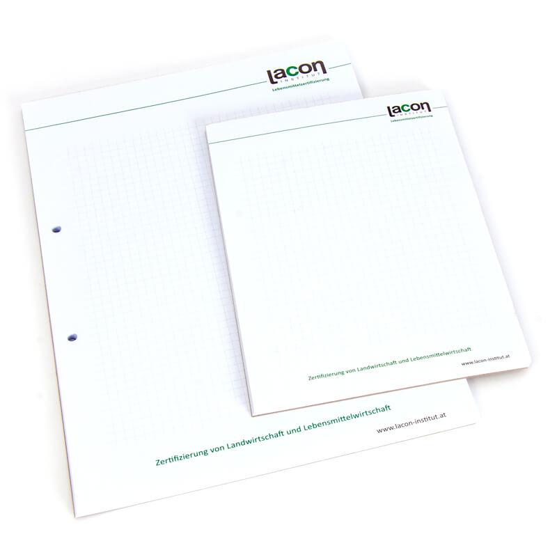 Druckerei Grafiko Schreibblock
