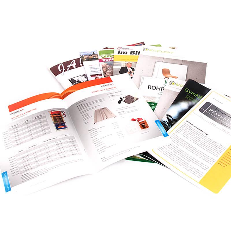Druckerei Grafiko Broschüren