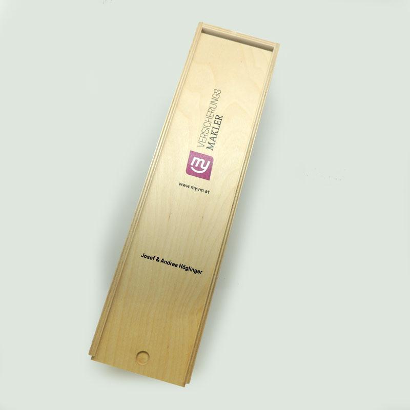 Druckerei grafiko Holz Weinbox